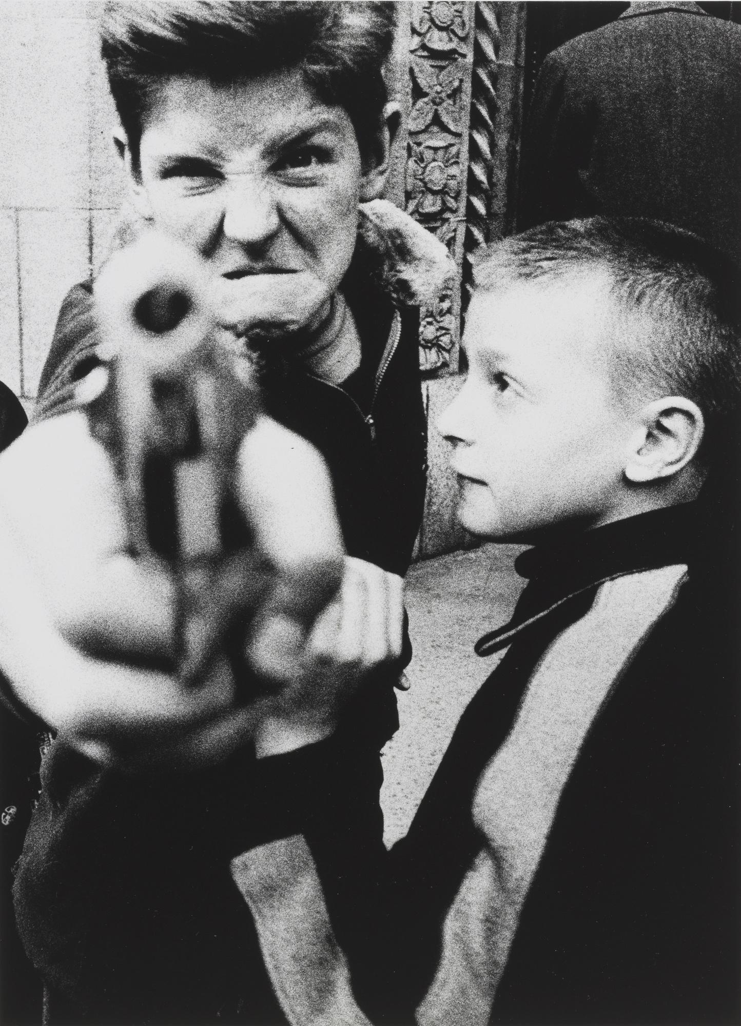 William Klein-New York 54/55 (Paris: Atelier J. M. Bustamante-Bernard Saint-Genes, 1978)-1955