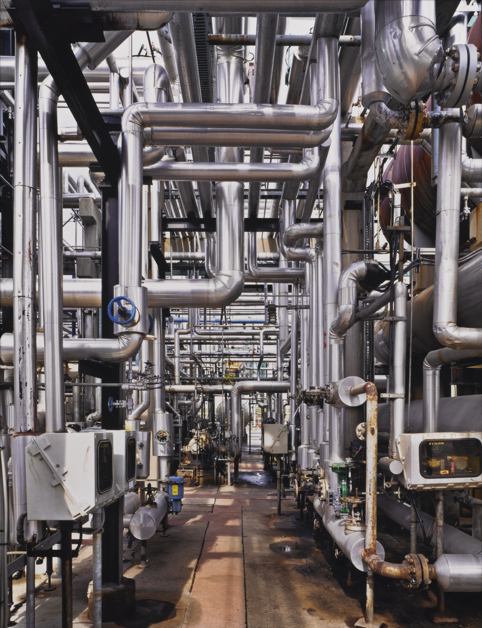 Edward Burtynsky-Oil Refineries #23 Oakville Ontario-1999