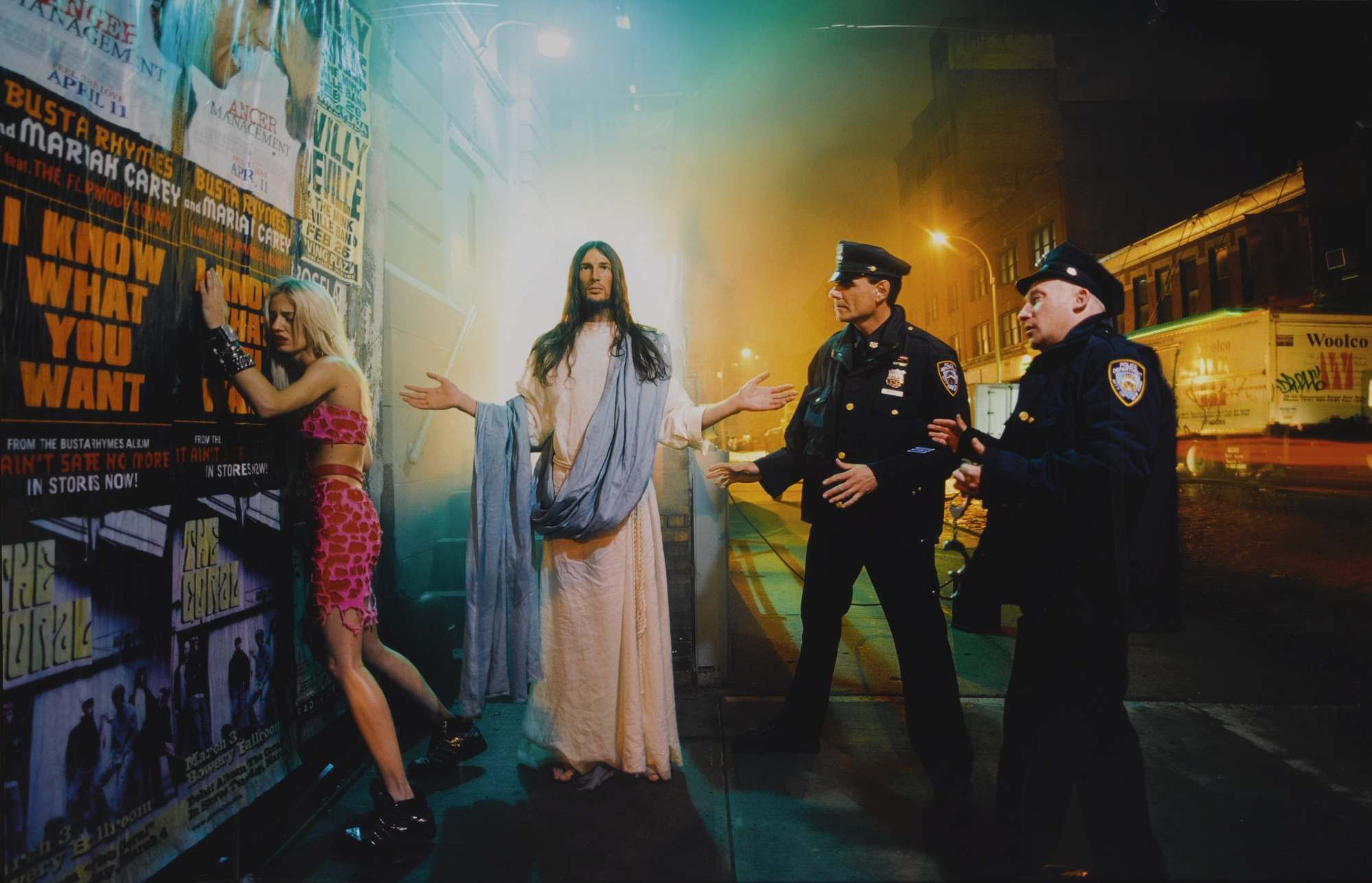 David LaChapelle-Intervention' (From Jesus Is My Homeboy)-2003