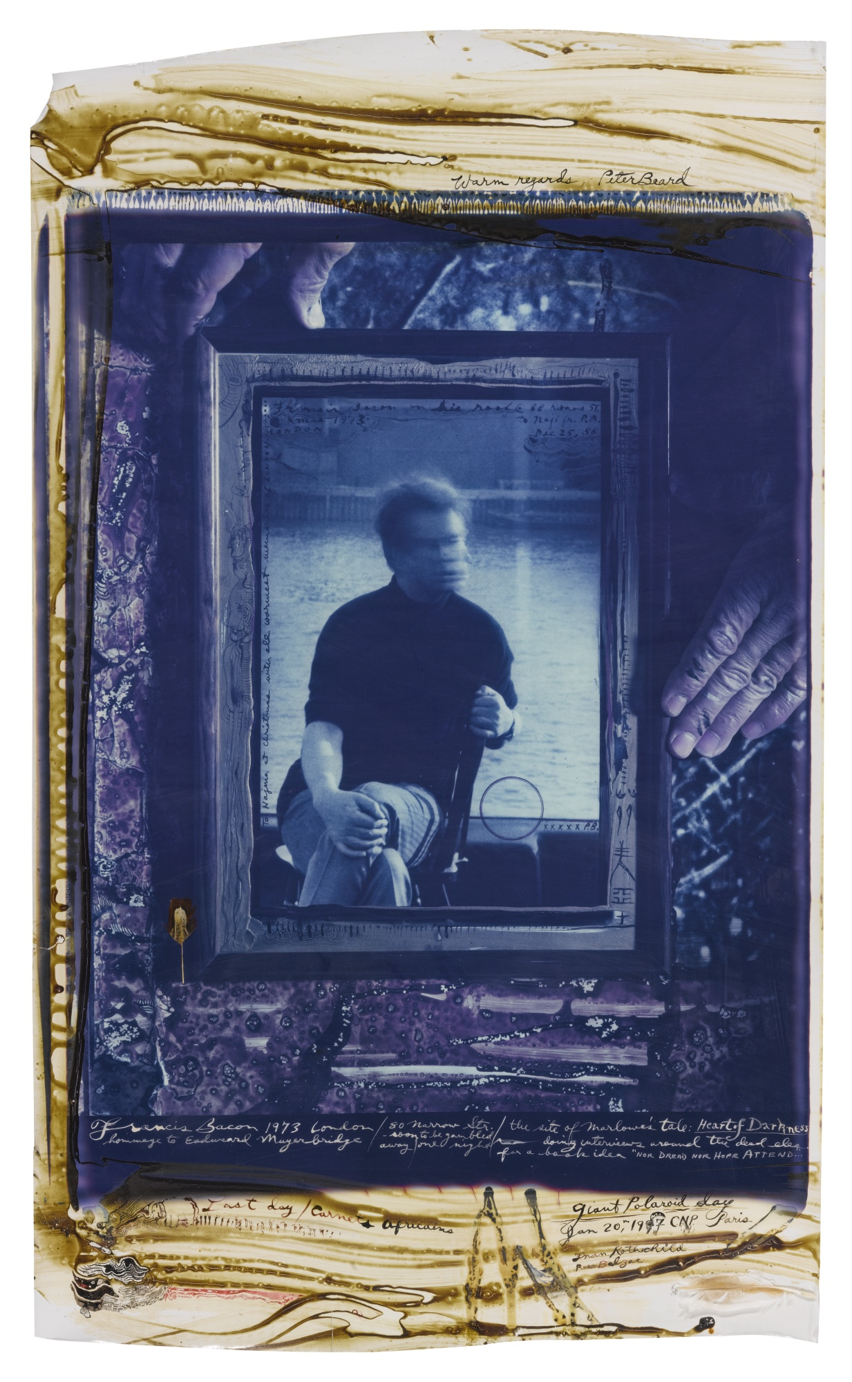Peter Beard-Francis Bacon London-1997