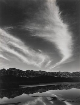 Ansel Adams-Sierra Nevada Winter Evening Cloud-1962