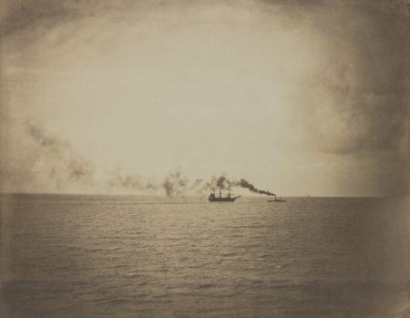 Gustave Le Gray-Le Vapeur (Tugboat)-1856
