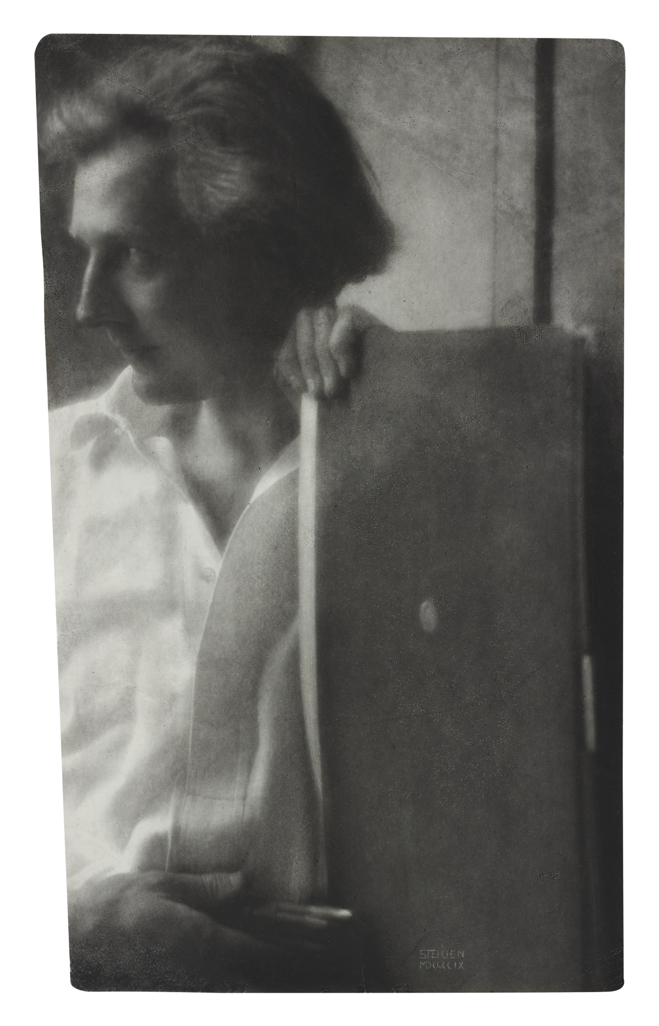 Edward Steichen-Profile Portrait Of Edward Gordon Craig-1909