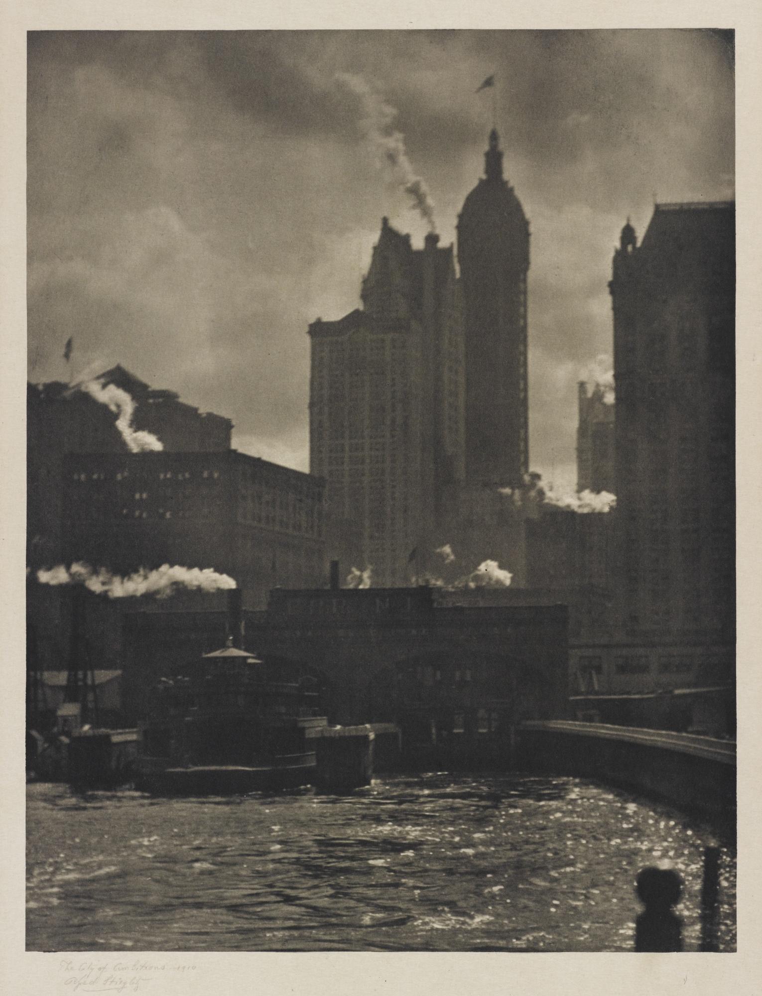 Alfred Stieglitz-The City Of Ambitions-1918