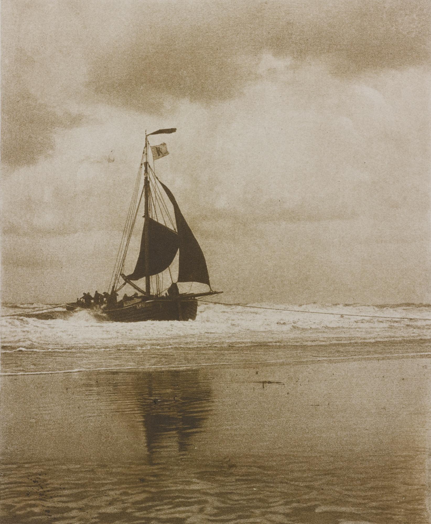 Alfred Stieglitz-The Incoming Boat (Greenough 229)-1894