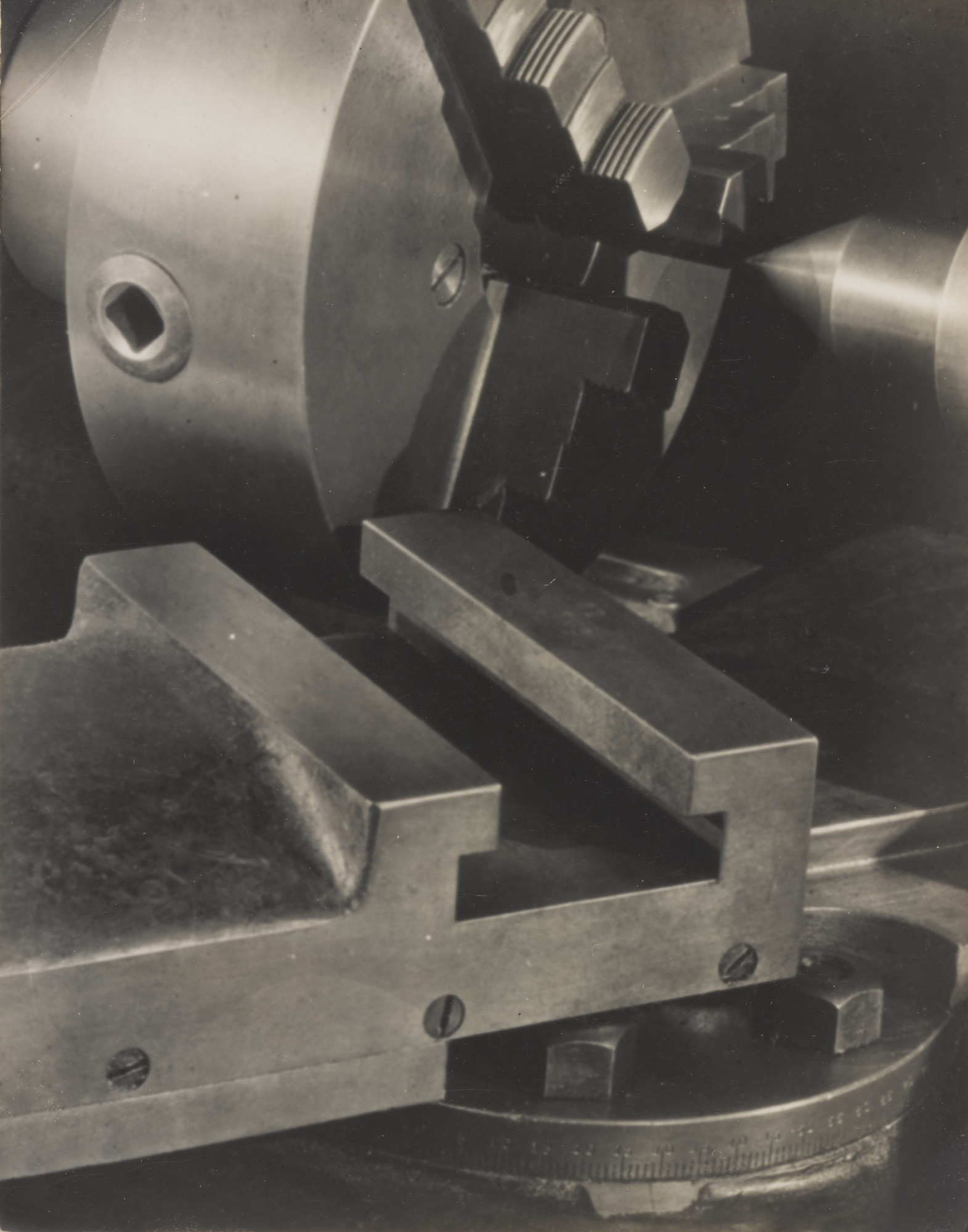 Paul Strand-Lathe Akeley Shop New York-1923