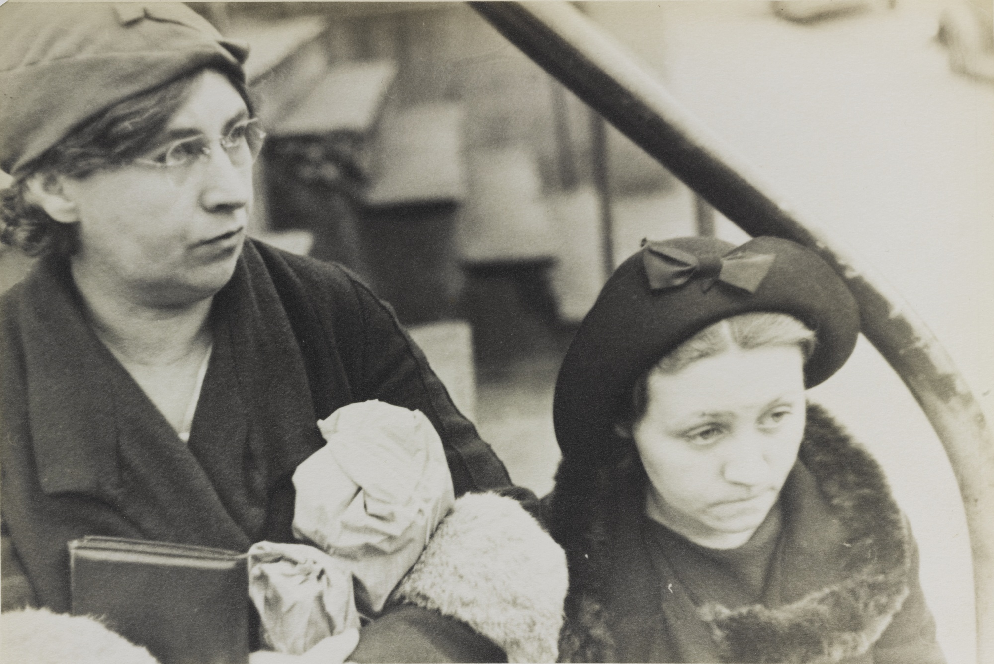 Walker Evans-Street Scene Bethlehem Pa-1935