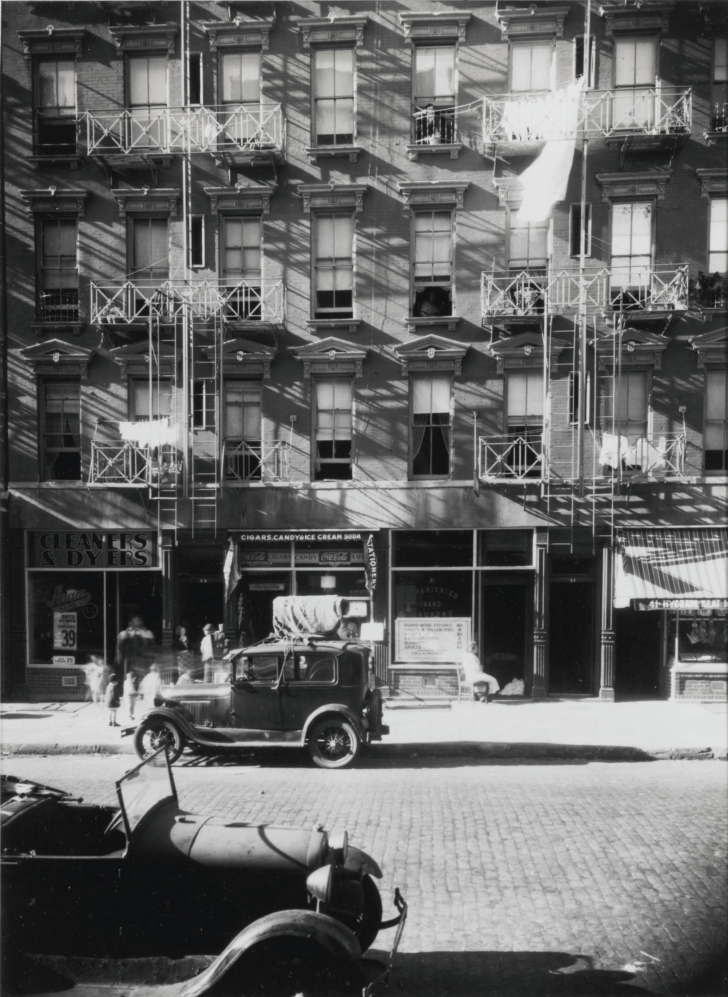 Walker Evans-41-43 Carmine Street New York City-1934