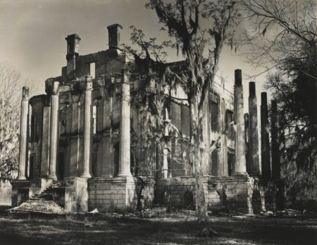 Clarence John Laughlin-The Final Act (Belle Grove Plantation)-1952