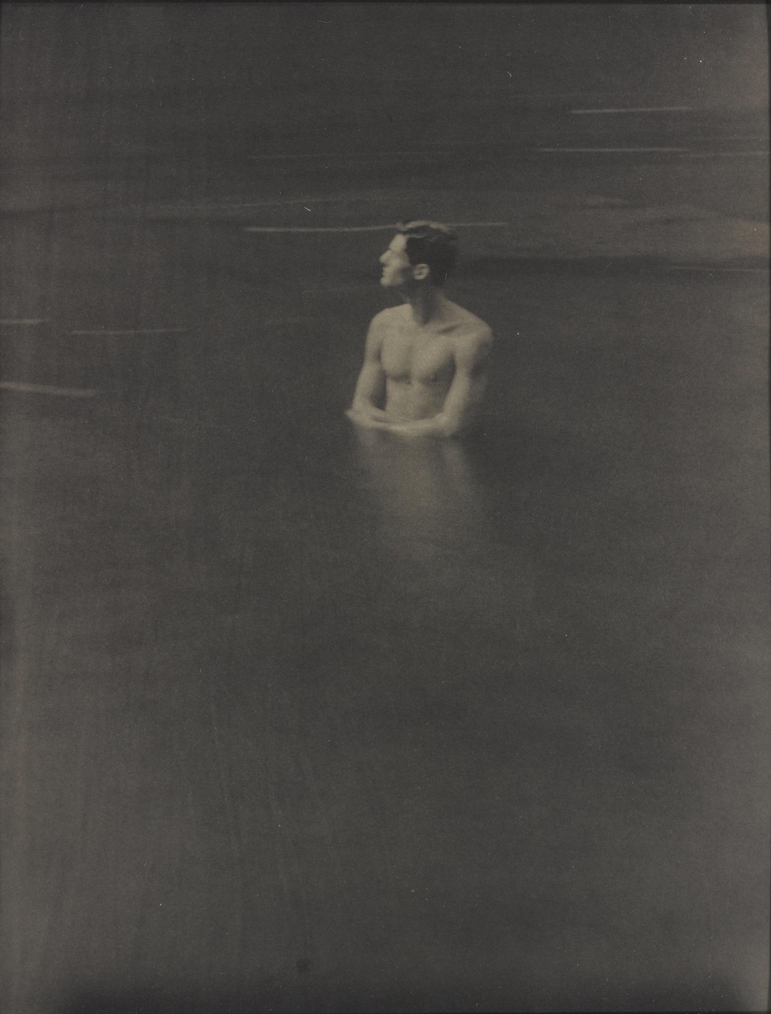 John Dugdale-Self-Portrait In Rondout Creek-1993