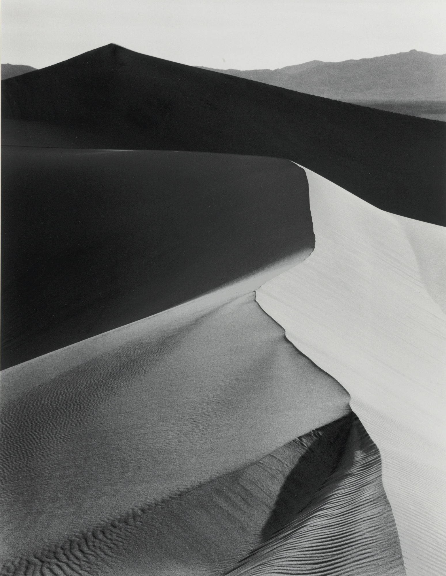 Ansel Adams-Sand Dunes Sunrise Death Valley National Monument Ca.-1948