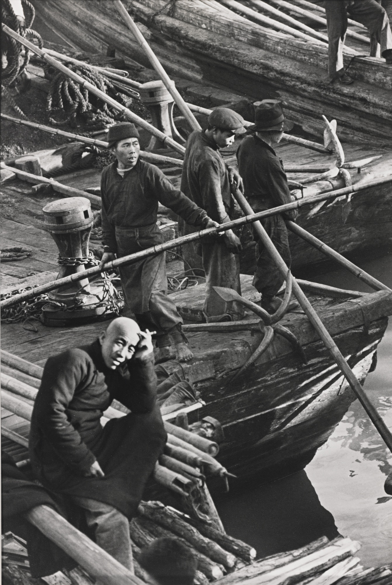 Henri Cartier-Bresson-Suchow Creek Shanghai-1949