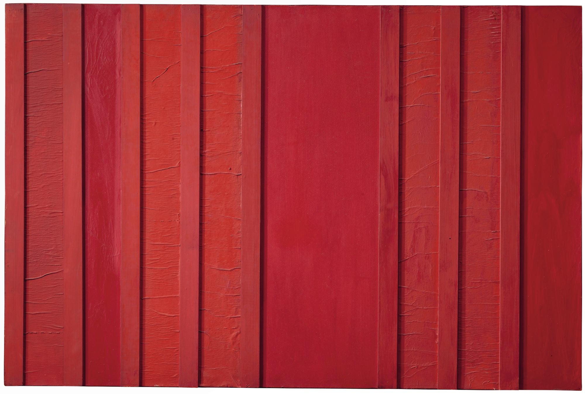 Tano Festa-Rosso N. 29-1961