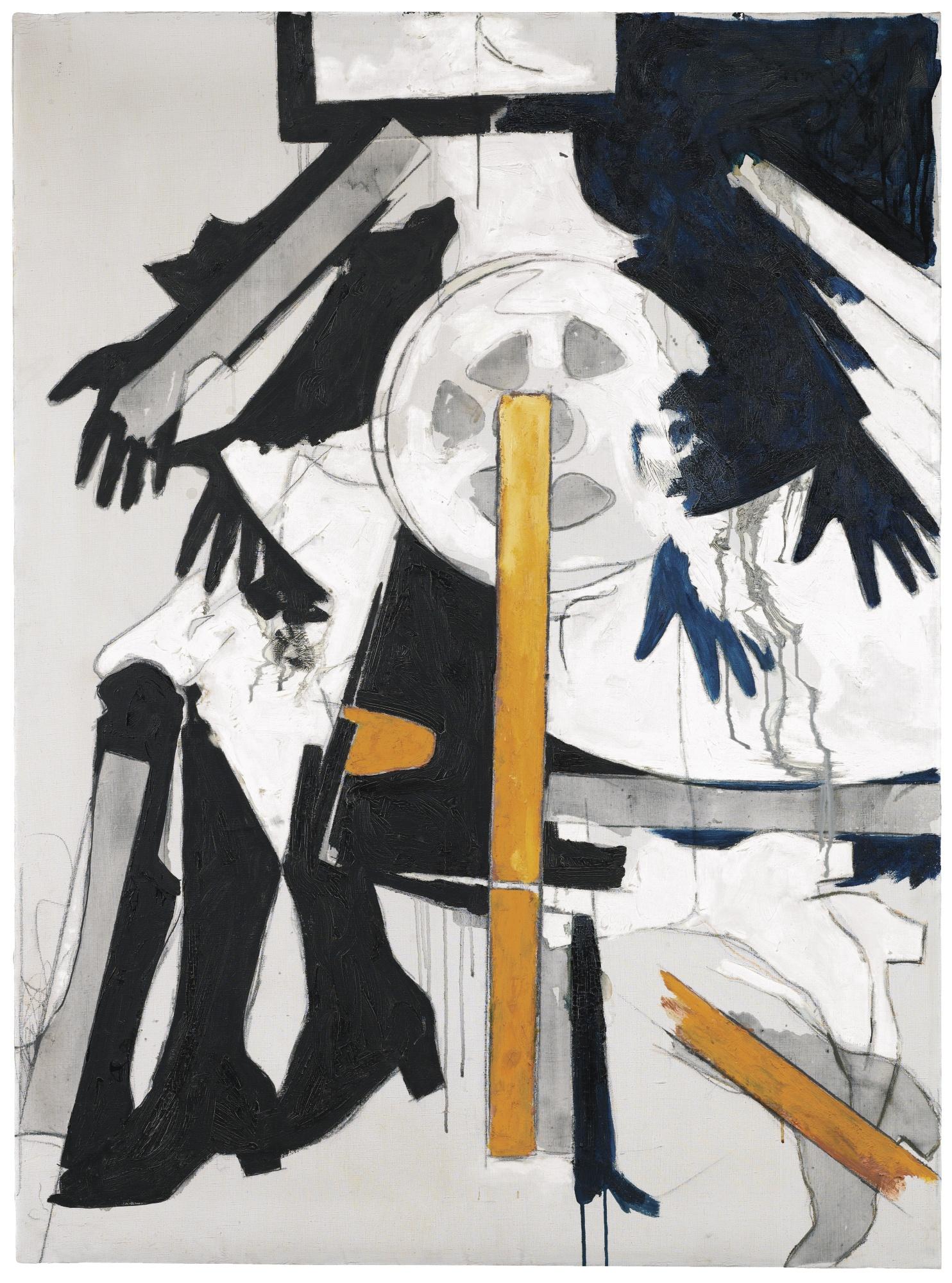 Mario Schifano-N. 3 Dagli Archivi Del Futurismo-1965