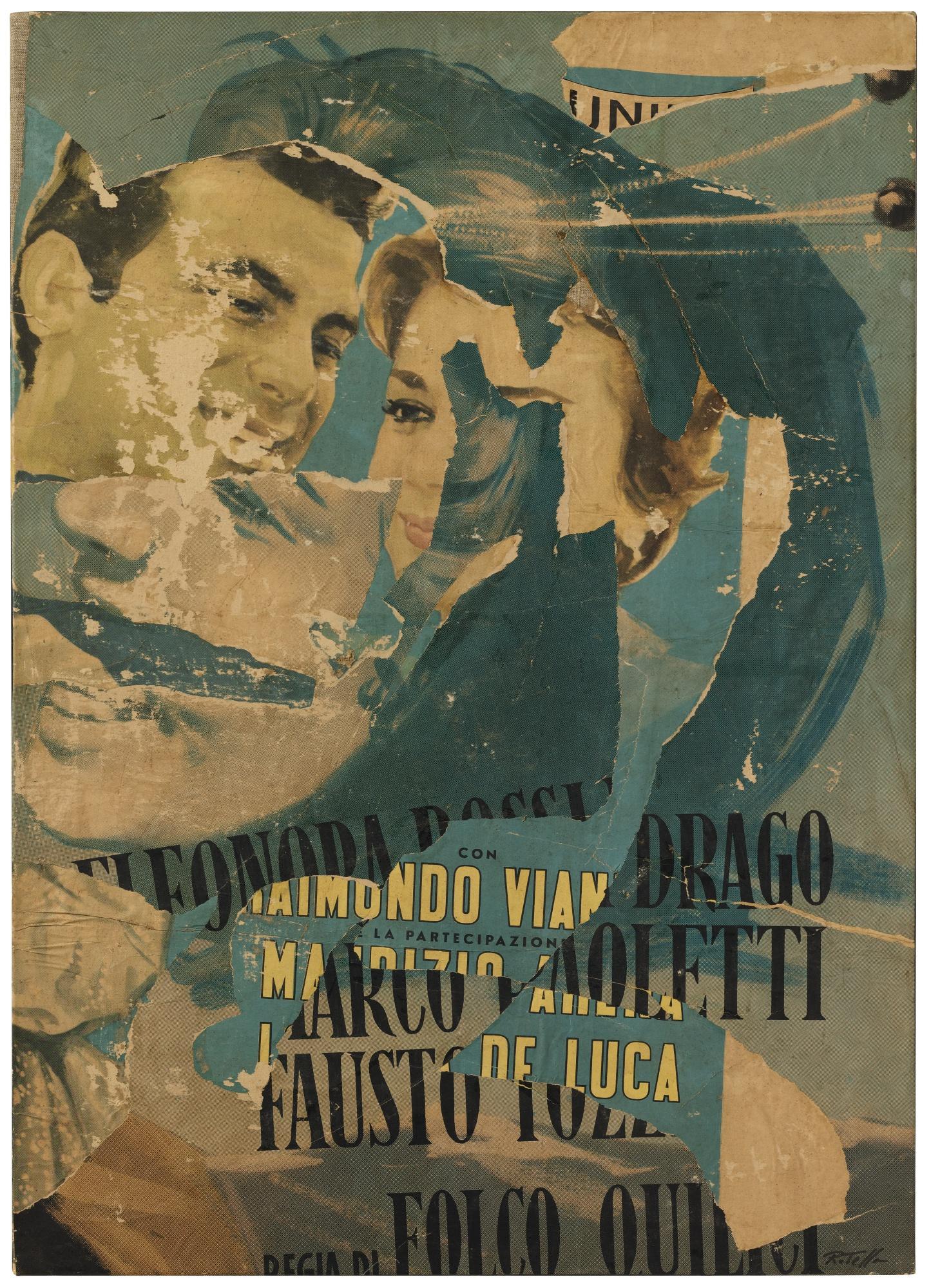 Mimmo Rotella-Partecipazione-1962