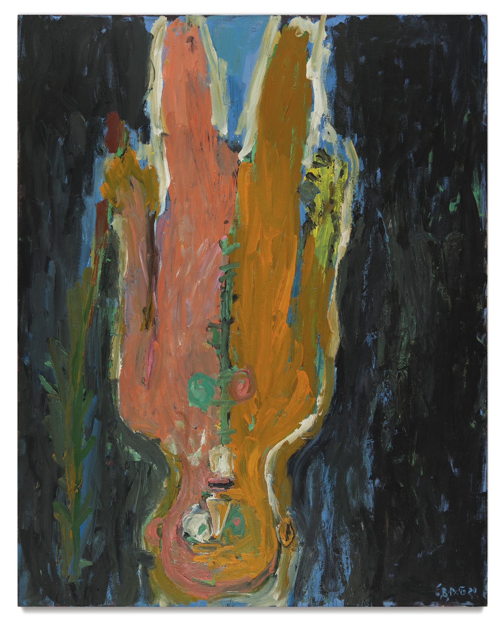 Georg Baselitz-Der Bote-1984