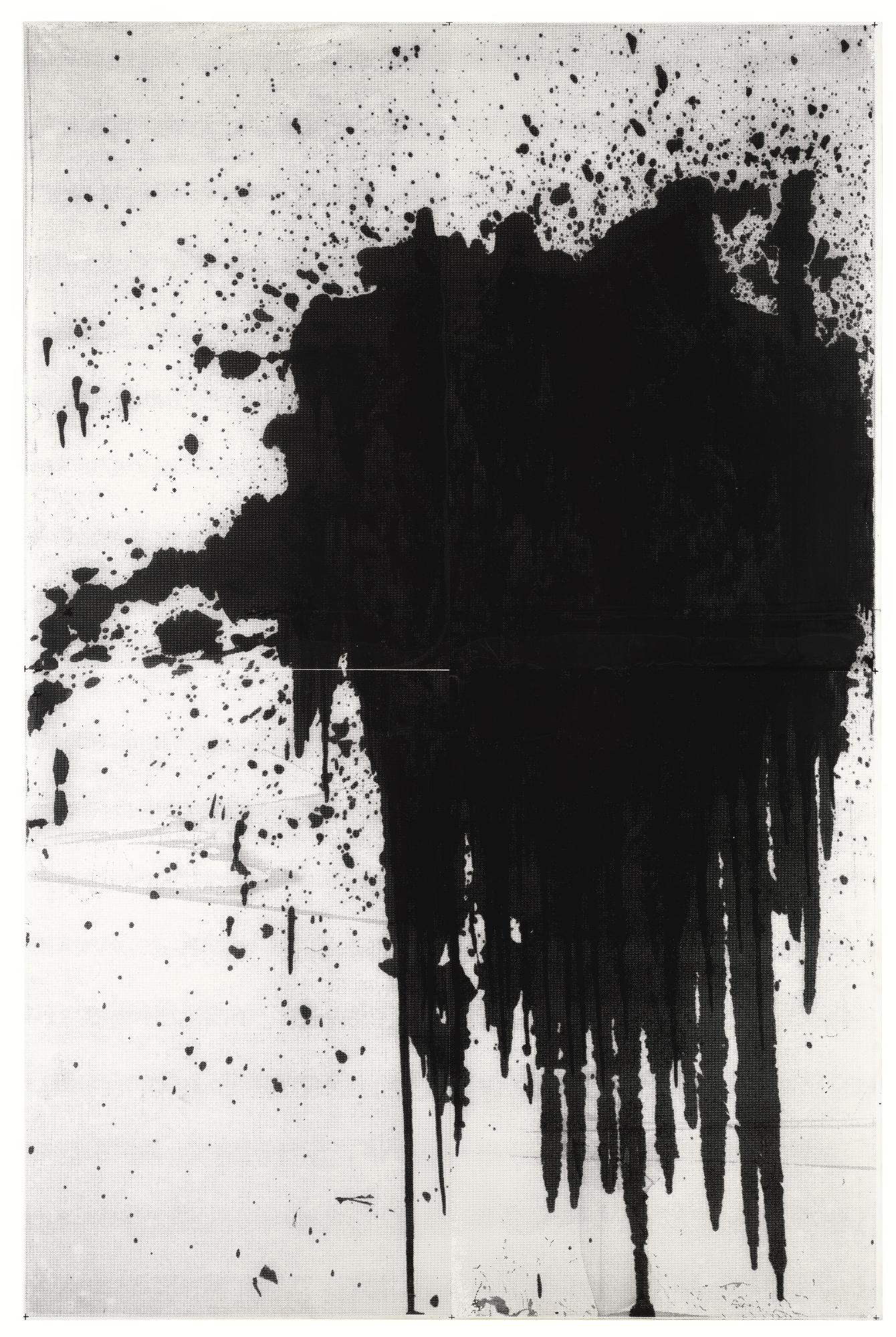 Christopher Wool-Minor Mishap (Black)-2001