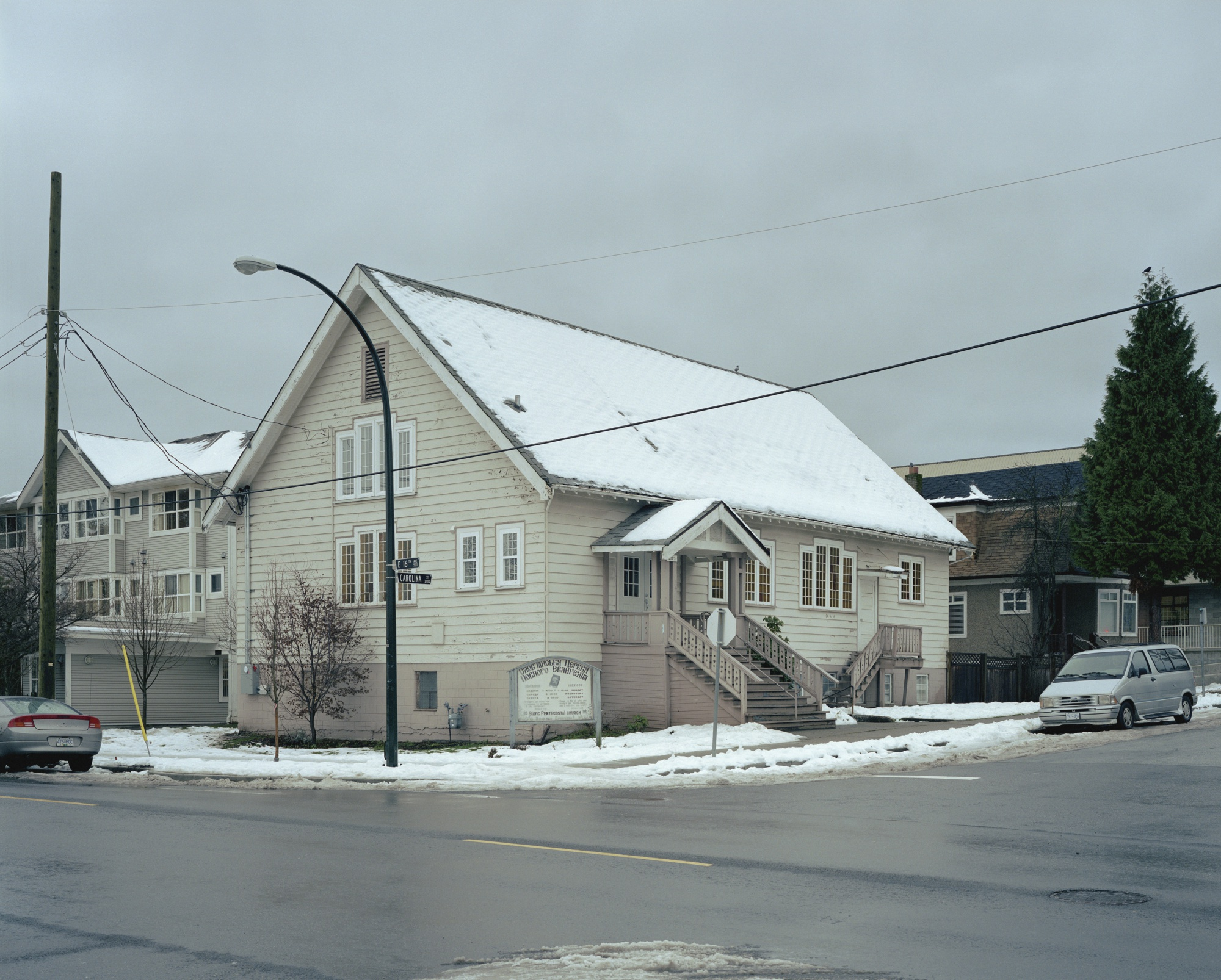 Jeff Wall-Church Carolina St. Vancouver-2007