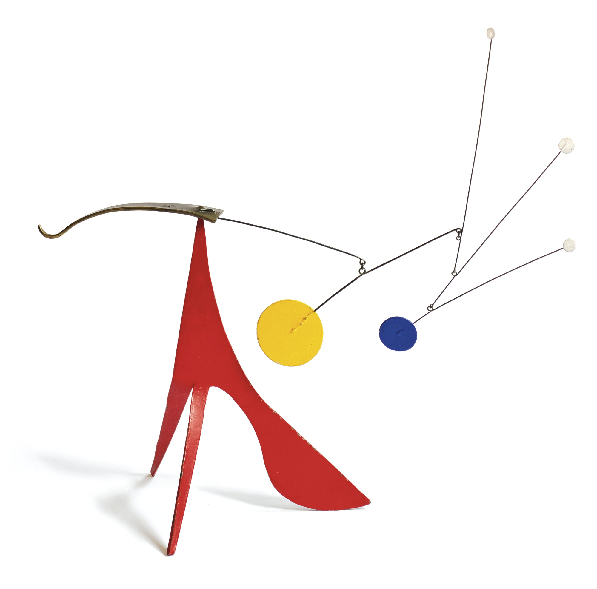 Alexander Calder-Two Legs And A Belly-1959