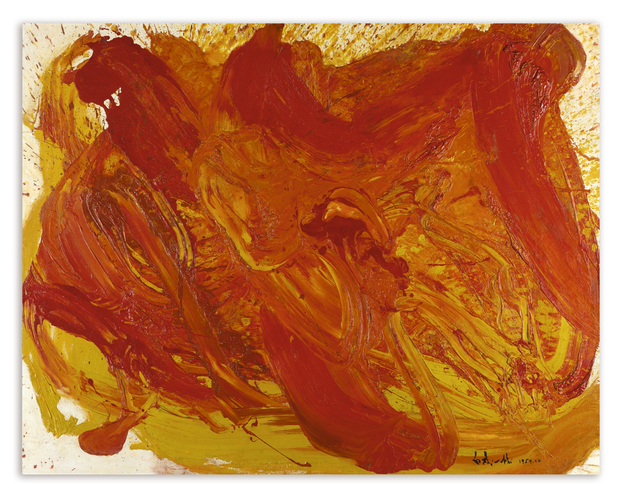 Kazuo Shiraga-Untitled-1959