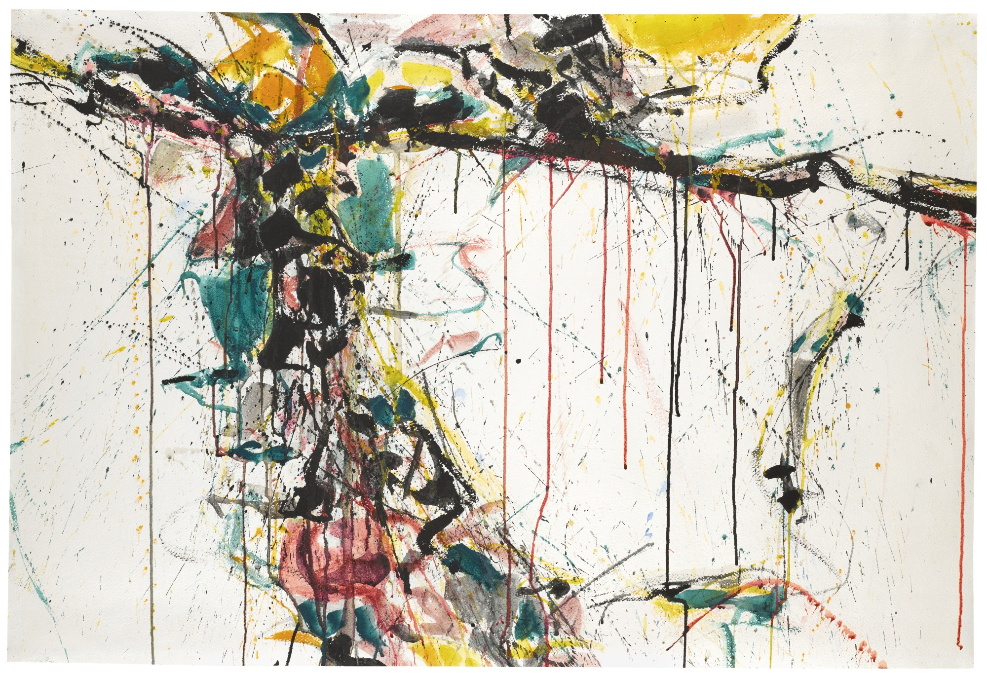 Sam Francis-Untitled (AbstractComposition)-1958