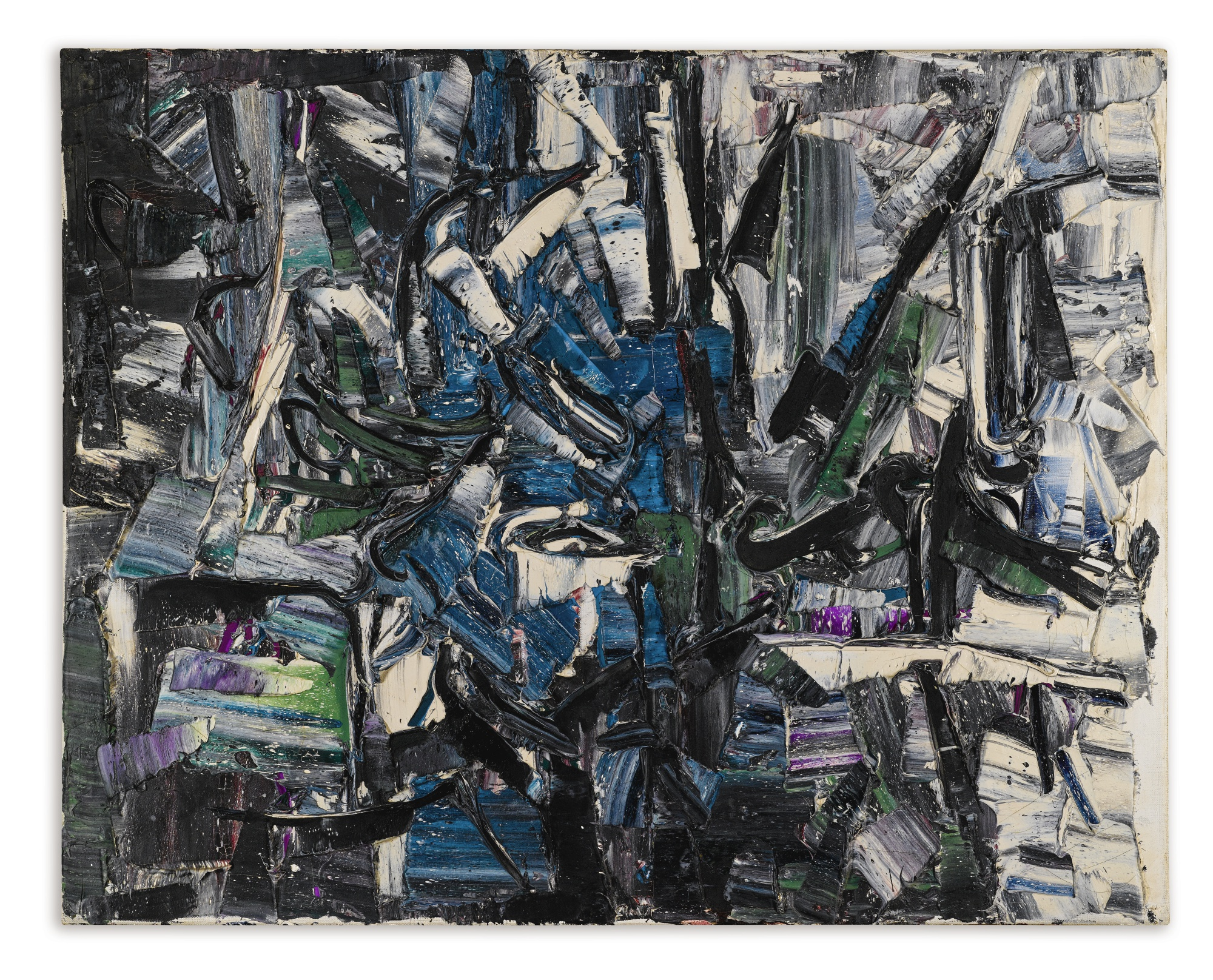 Jean-Paul Riopelle-Untitled-1960