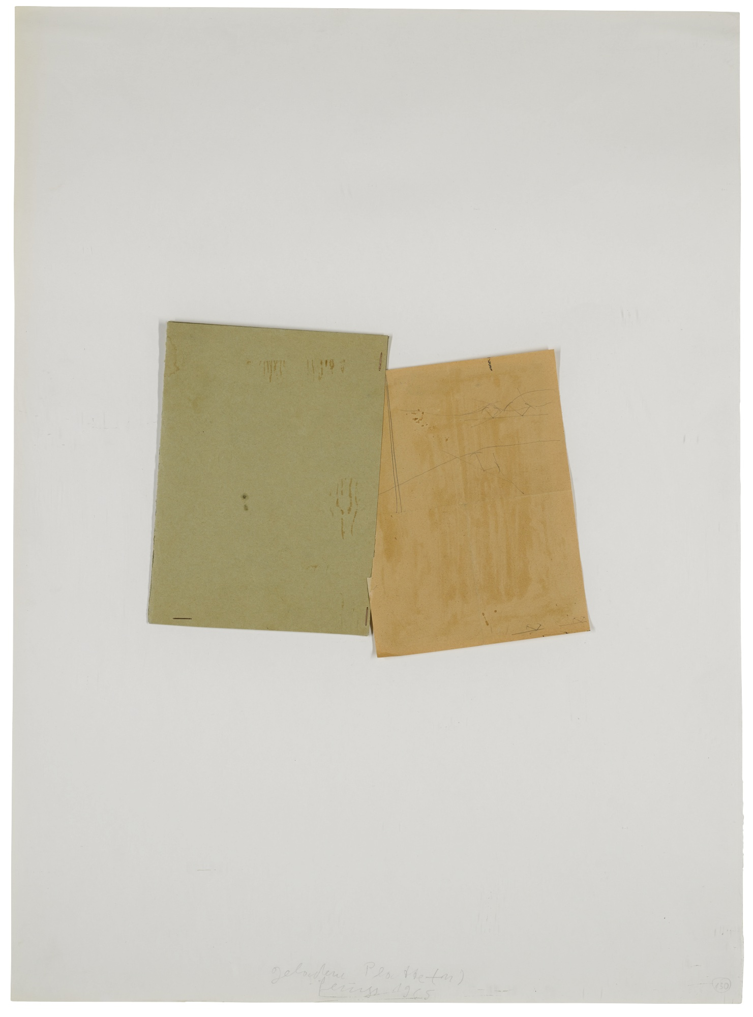 Joseph Beuys-Geladene Platte(-N) [Loaded Plate(-S)]-1965