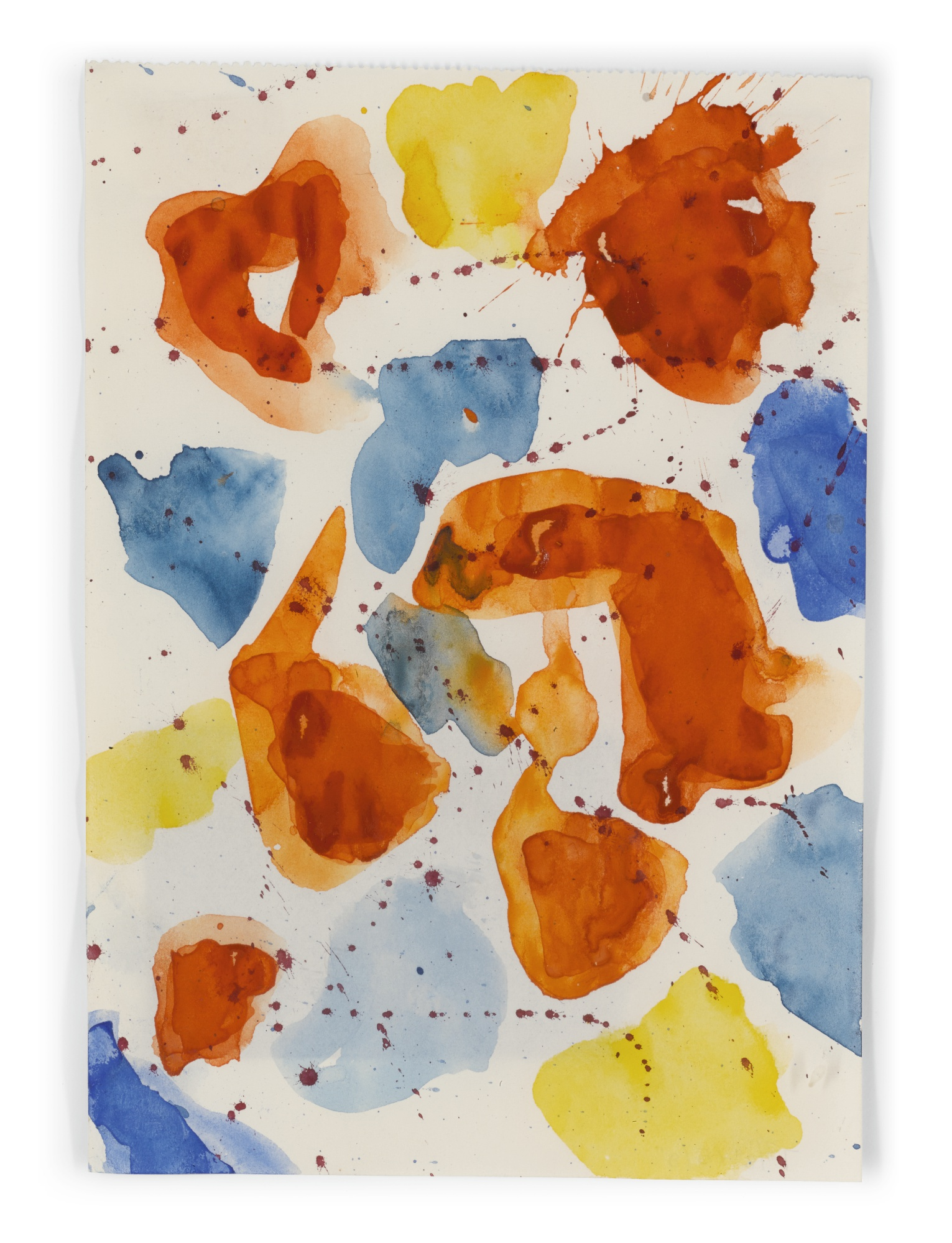 Sam Francis-Untitled (Sf84-117)-1984