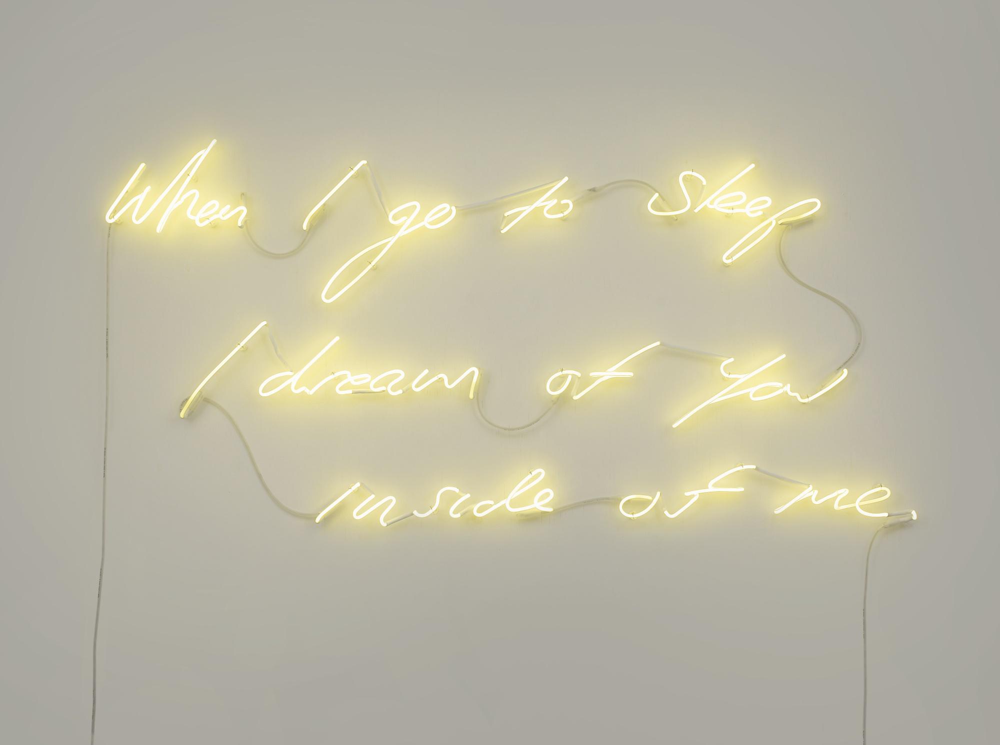 Tracey Emin-When I Go To Sleep I Dream Of You Inside Of Me-2003