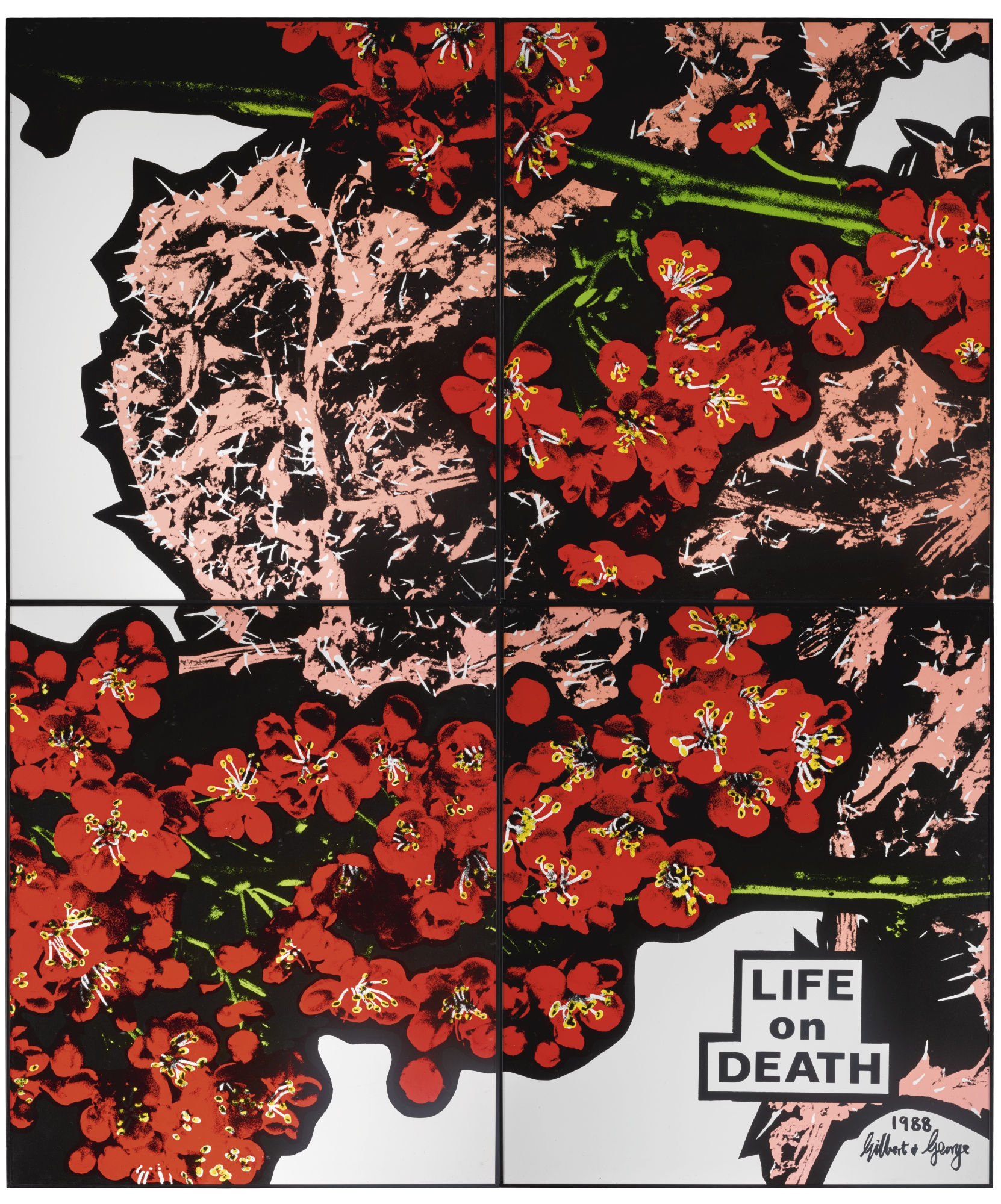 Gilbert and George-Life On Death-1988