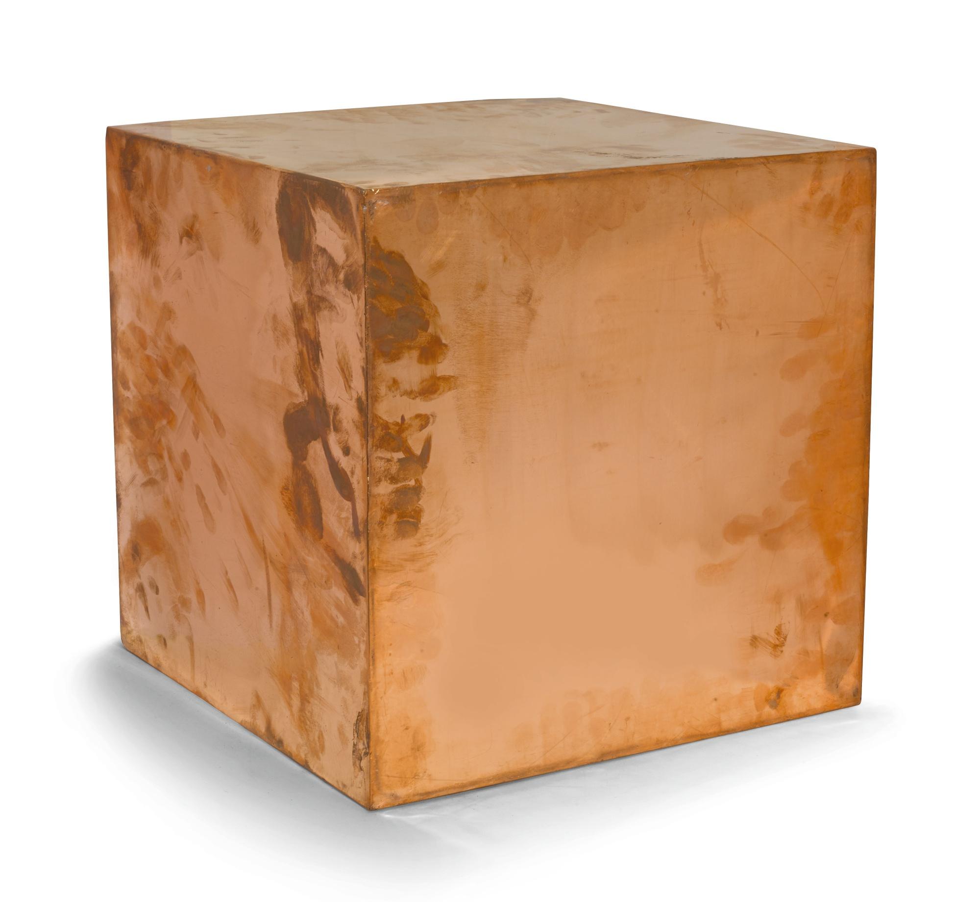 Walead Beshty-16-Inch Copper (Fedex® Kraft Box ©2005 Fedex 330504 10/05 Sscc) International Priority Los Angeles-London Trk#8763450592080402 May 5 - May 22 2012-2011