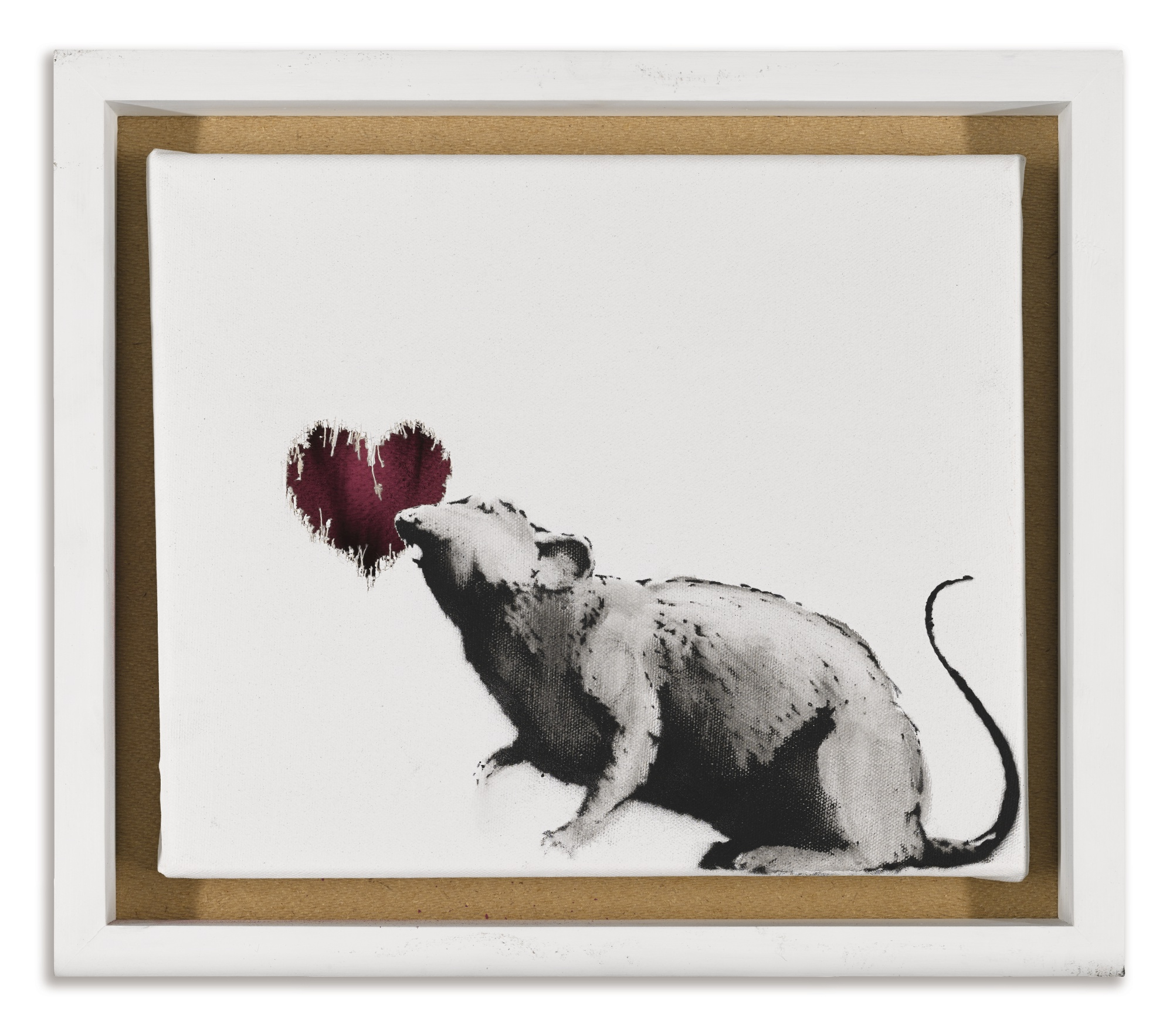 Banksy-Rat & Heart-2015