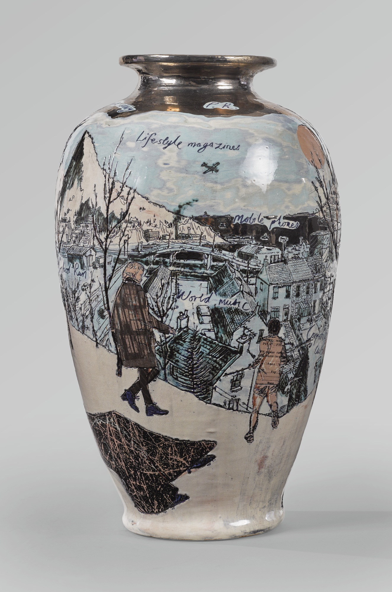 Grayson Perry-Punters In The Snow-1999