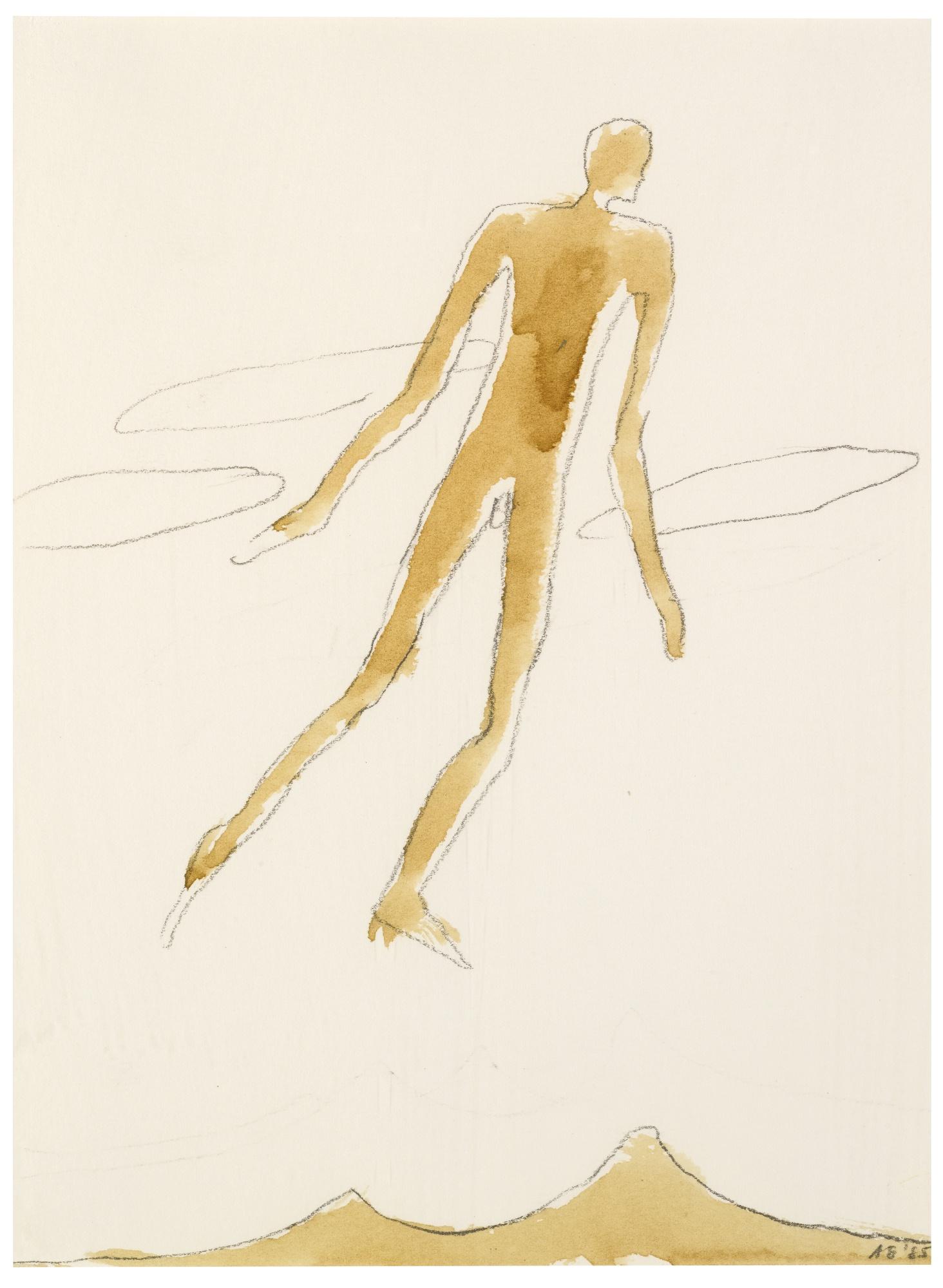 Antony Gormley-Untitled-1985