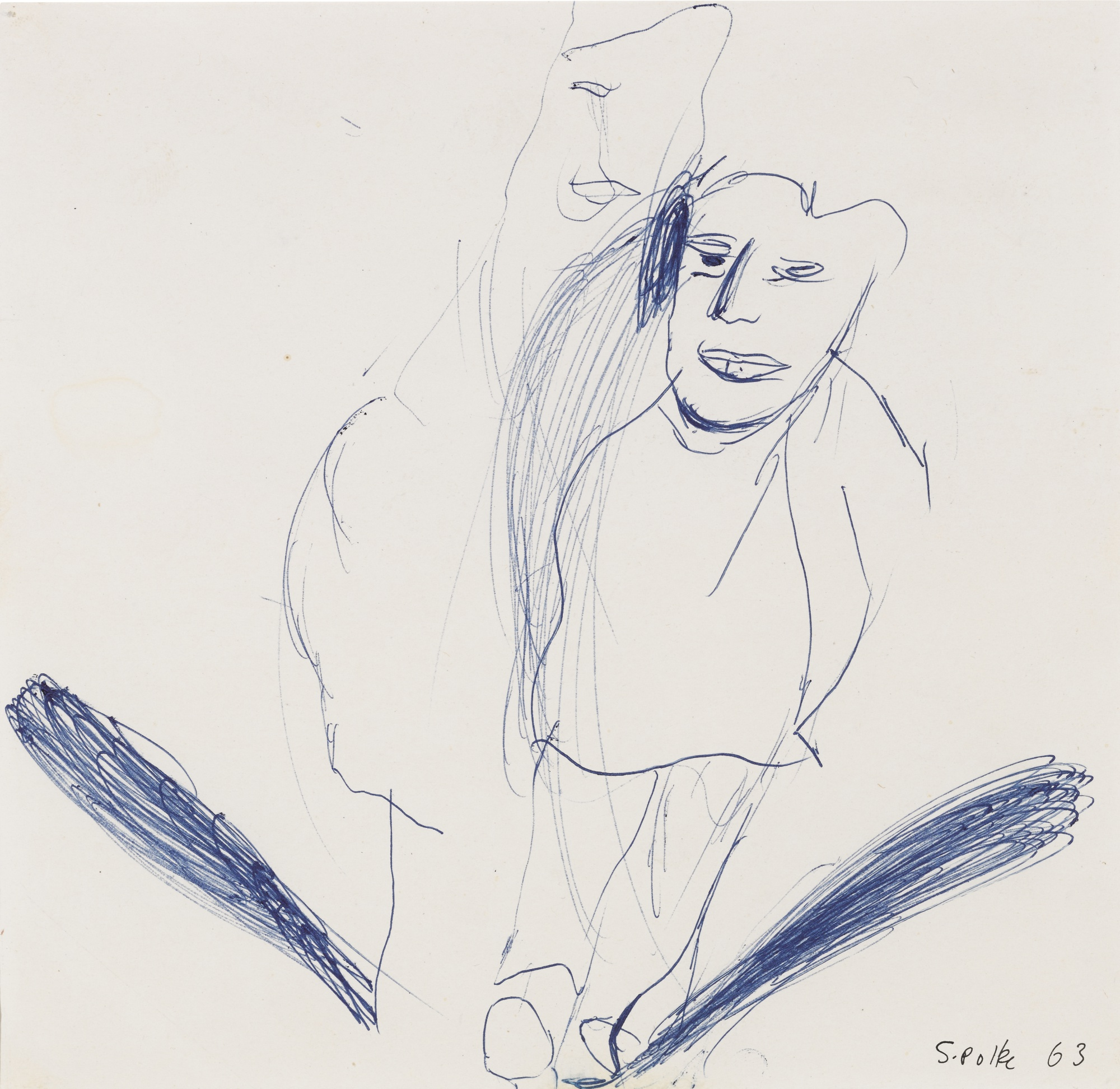 Sigmar Polke-Ohne Titel-1963
