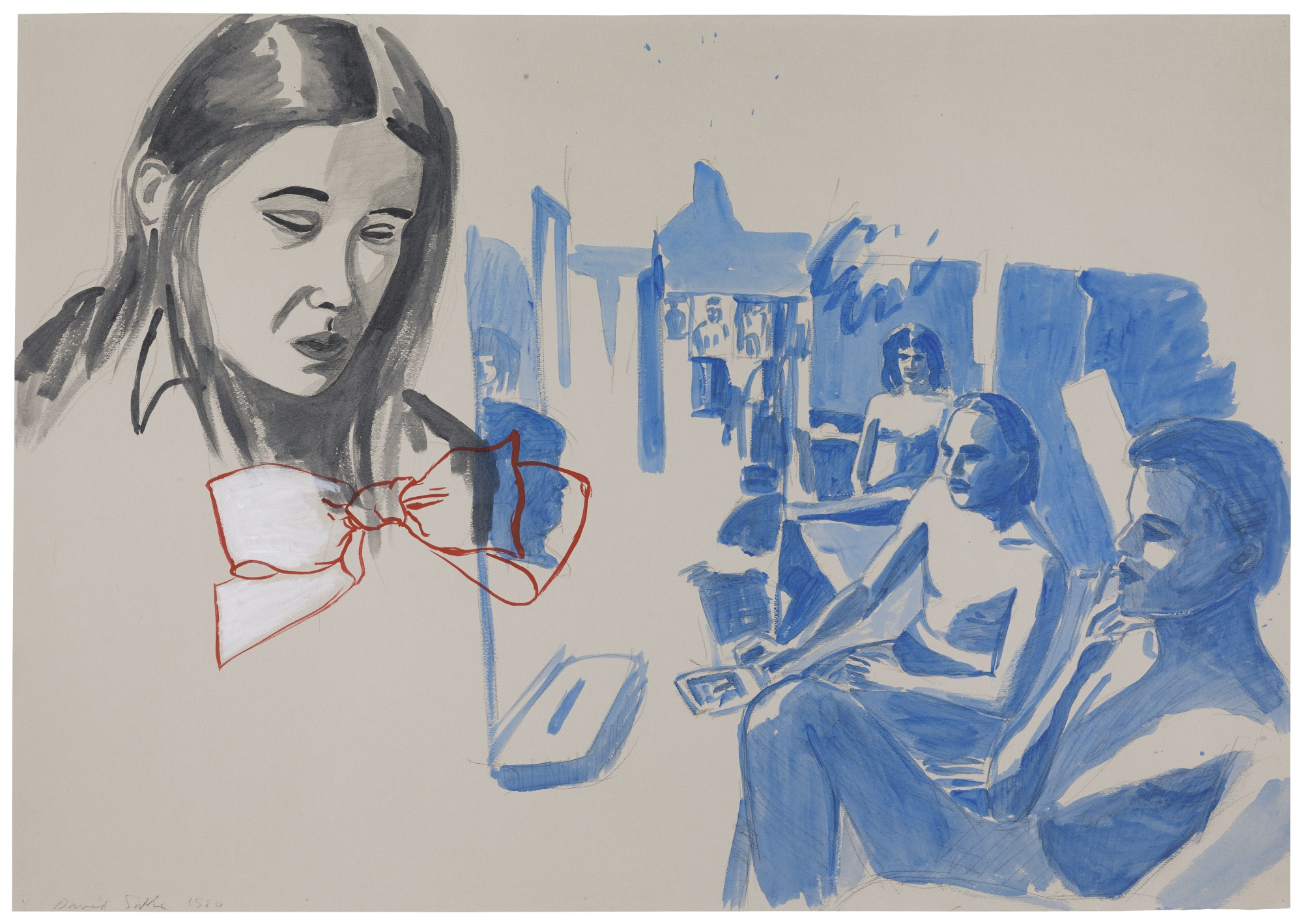 David Salle-Untitled-1980