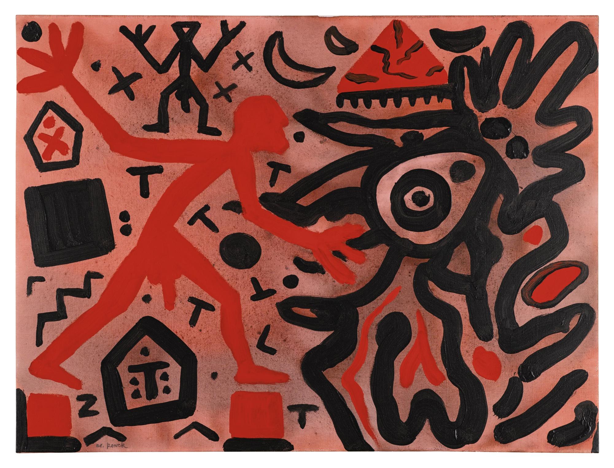 A.R. Penck-Lava - Feedback-1998
