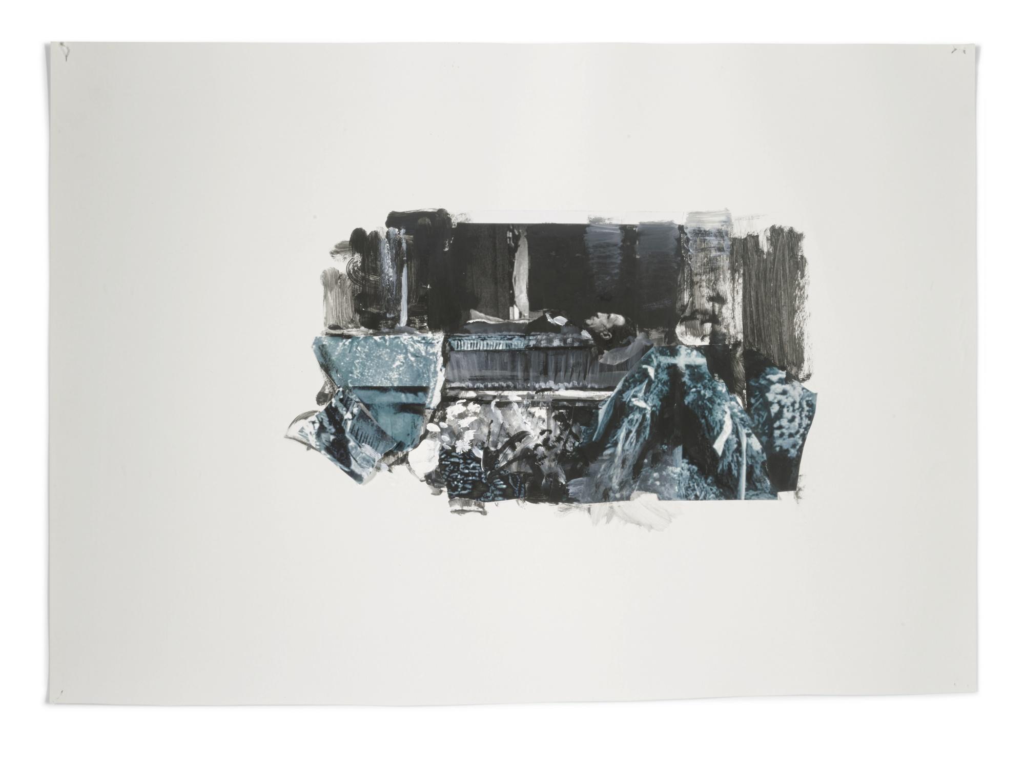 Adrian Ghenie-Study For Duchamp's Funeral II-2009