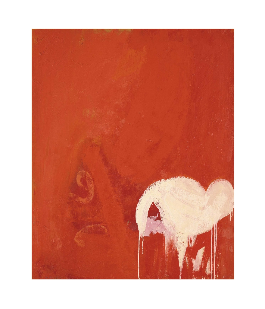 Minoru Kawabata-Rouge Puissant (Loud Red)-1961
