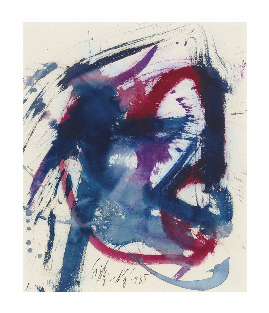 Kazuo Shiraga-Untitled-1985