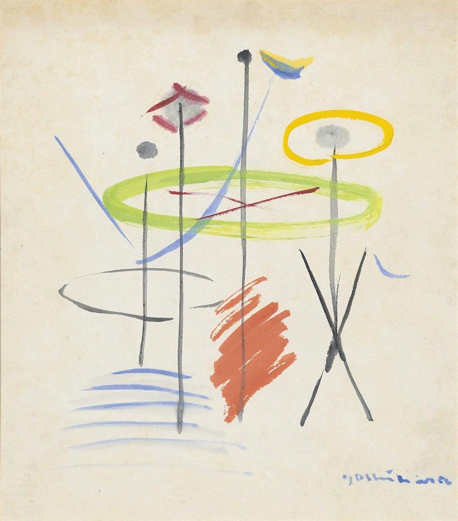 Jiro Yoshihara-Untitled-1950