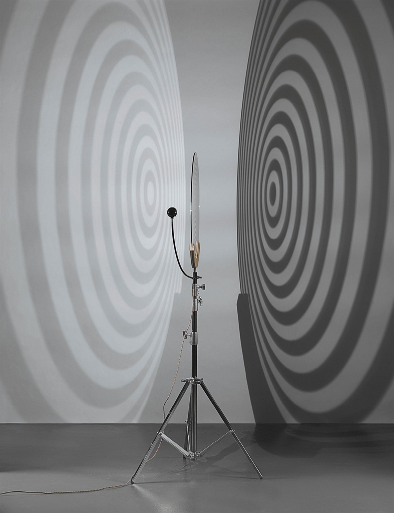 Olafur Eliasson-Shadow Projection Lamp-2004