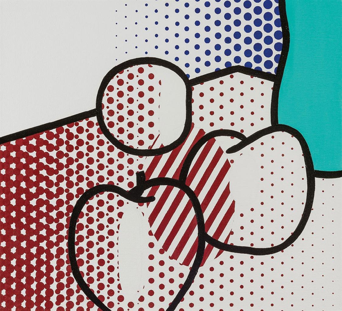 Roy Lichtenstein-Still Life - Red Apples-1993