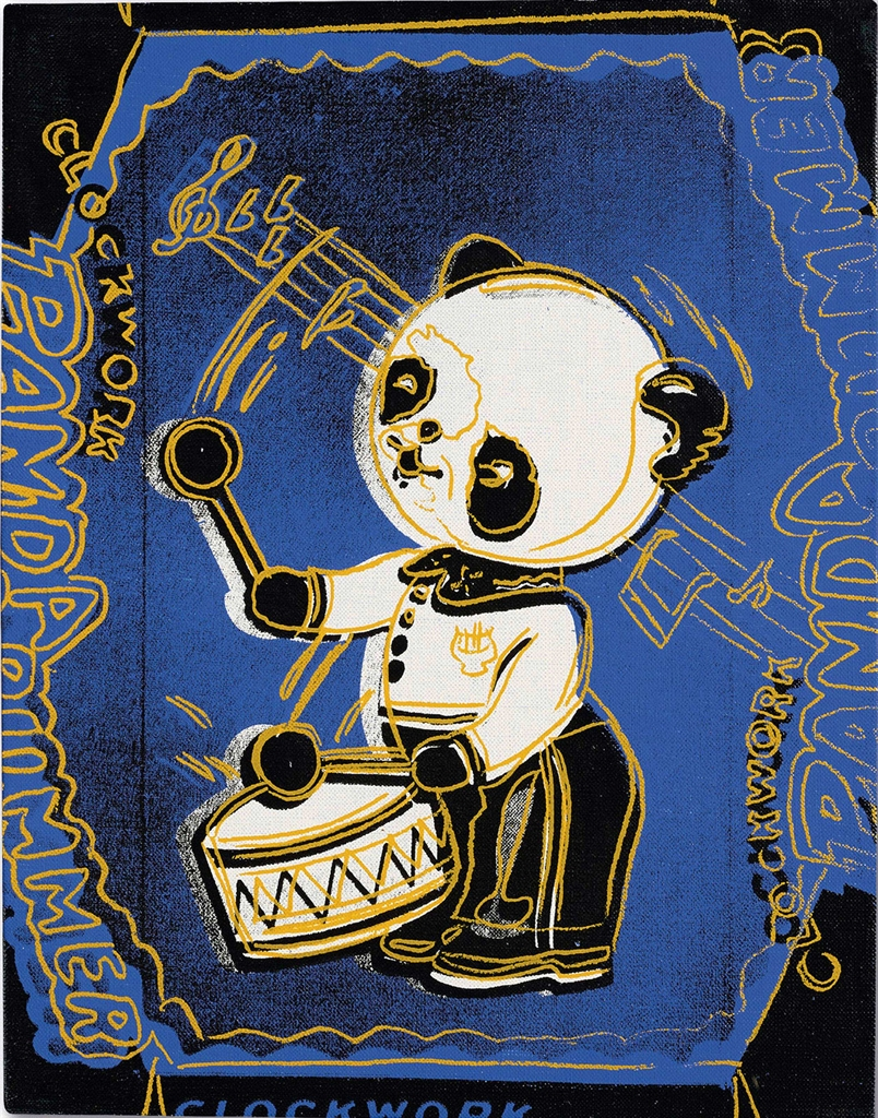 Andy Warhol-Clockwork Panda Drummer (from the Toy Series)-1983