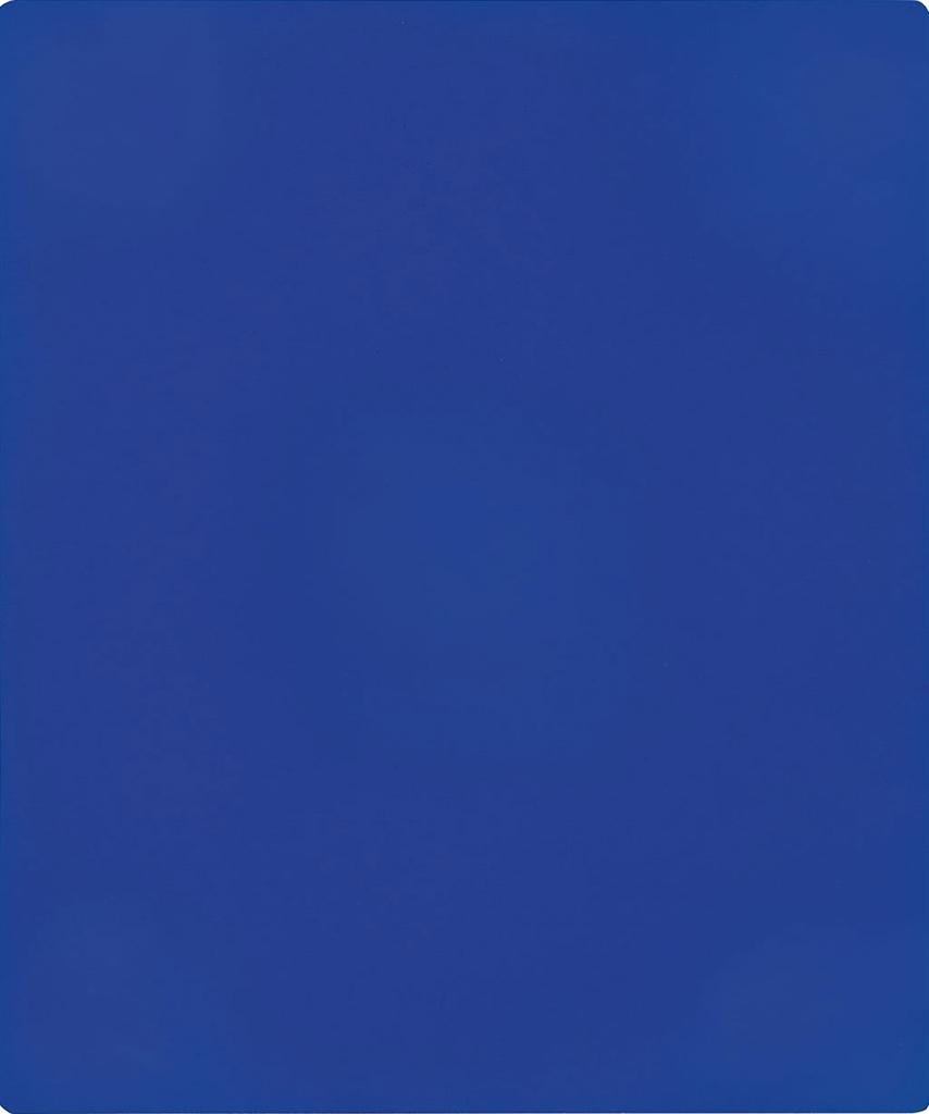 Yves Klein-Monochrome bleu sans titre-1956