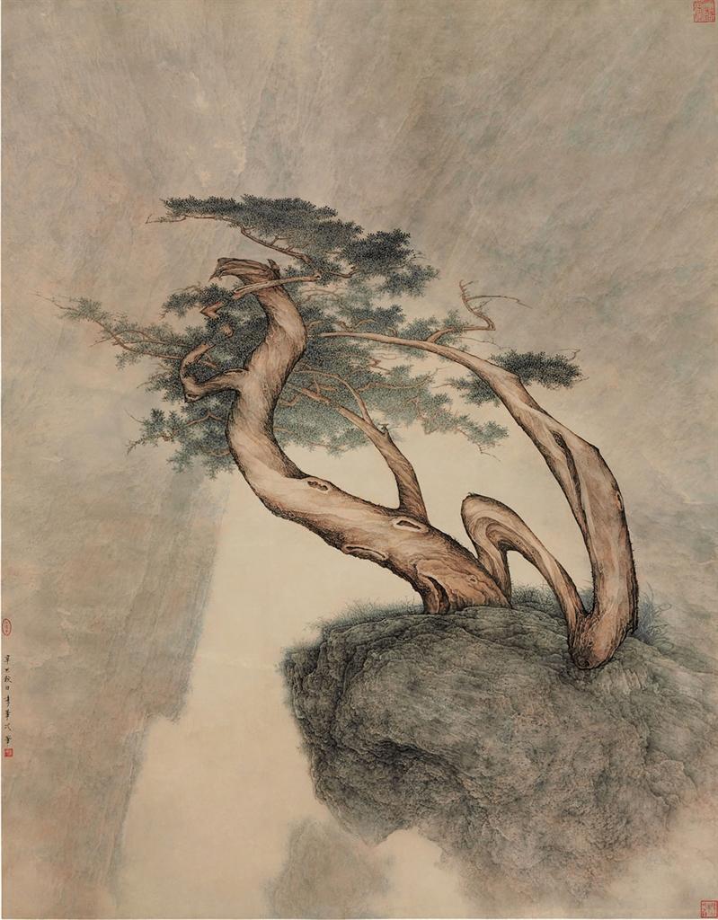 Li Huayi-Old Pine-2001