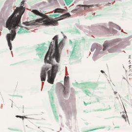 Chen Wen Hsi-Ducks-1987