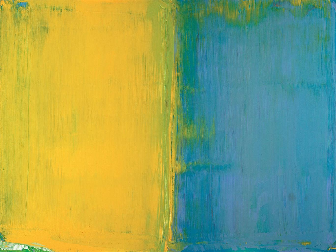 David Diao-The Finished Edge-1971