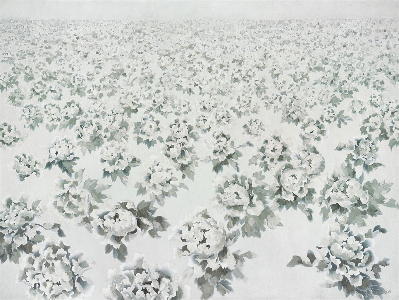 Wang Yin-Flowers-2006