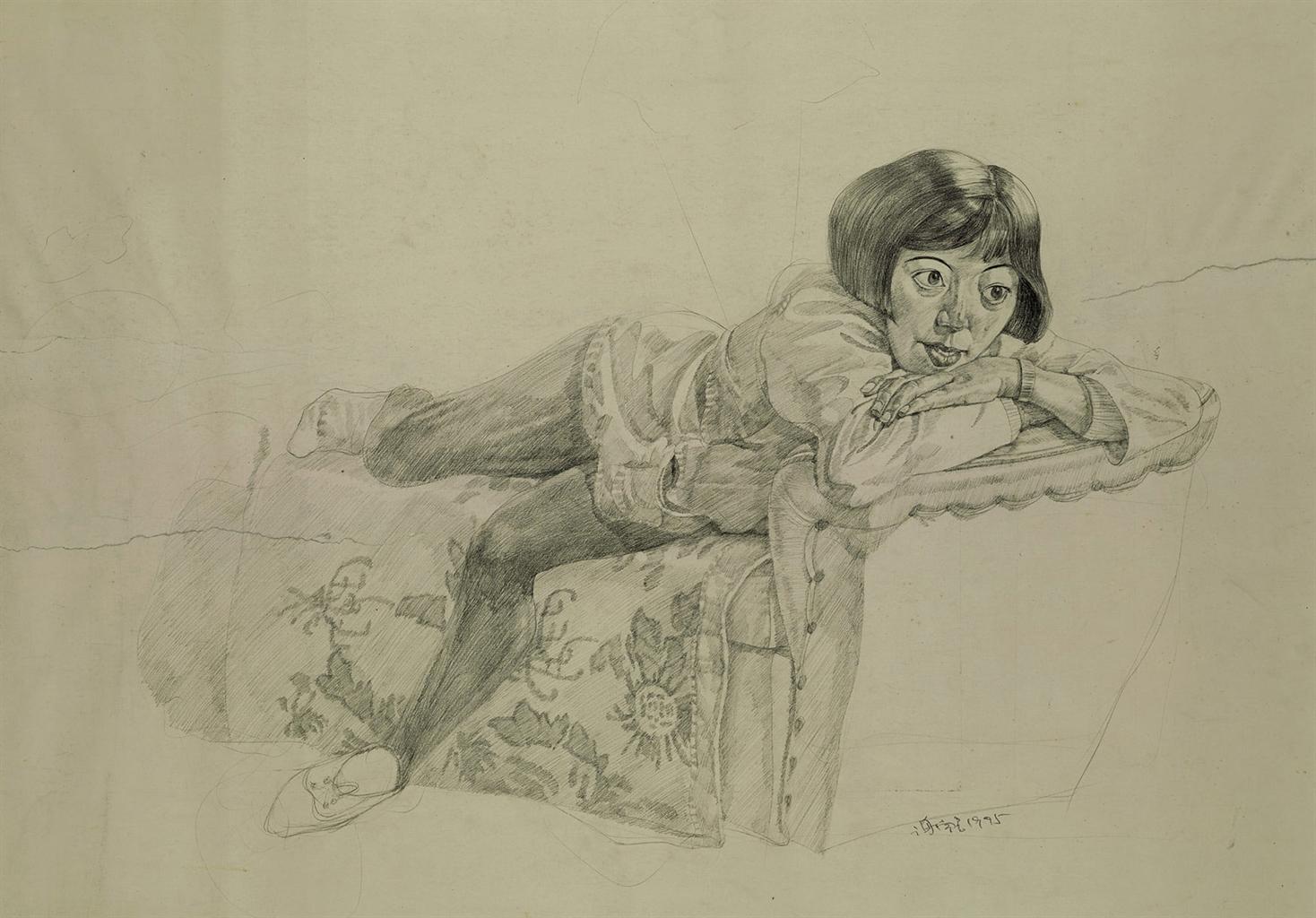 Xie Nanxing-Drawing-1995